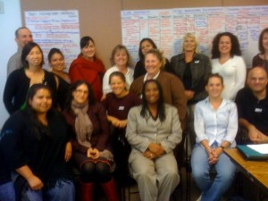 Representatives from California Rape Crisis Centers, CALCASA, California Department of Public Health, and others on Sexual Violence Strategic Planning Team.