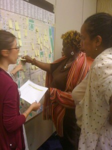 Check out Laura mapping assets and resources on the Lower East Side!