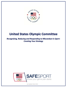 safesport handbook cover