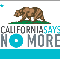 Logo - CA Says NO MORE